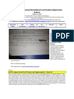 RI Science Professional Development and Student Opportunity Bulletin 2-8-13