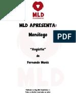 MLD Apresenta - Monólogo - Angústia