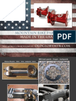 Mountain Bike Parts Made in the USA