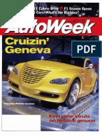 1998 Geneva Auto Show Coverage