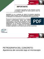 Petrografía Concreto Tecnicas de Laboratorio Modulo 3 2012