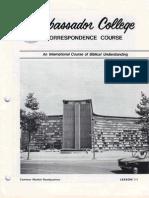 AC Corr Course Lesson 11 (Prelim 1973)