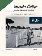 AC Corr Course Lesson 05 (Prelim 1971)