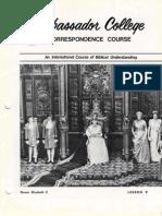 AC Corr Course Lesson 09 (Prelim 1972)