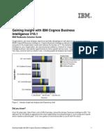 Gaining Insight With IBM Cognos Business Intelligence V10.1