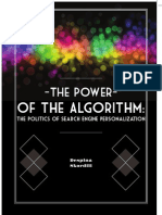 The Power of the Algorithm. The Politics of Search Engine Personalization