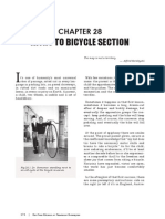 Intro to Bicycle Section
