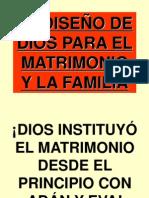 El Diseno de Dios Para La Familia