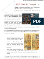 El POPOL VUH (El Libro Del Consejo)