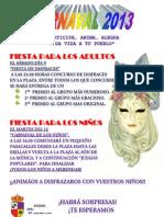Carnaval 2013 Lagartera