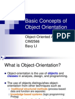 Basic Concepts of OO
