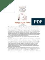 A. Ali Ural – Makyaj Yapan Ölüler