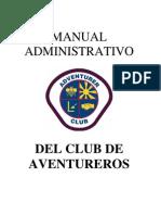 Manual Administrativo Aventureros
