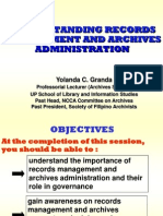 Records and Archives Administration