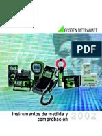 Catalogo Instrumentos de Medicion