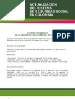 Actualizacion en SSS Colombia Part 1