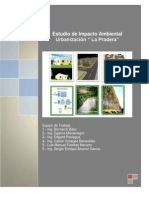 Borrador Del Informe de EIA Urbanizacion La Pradera Noviembre 2012