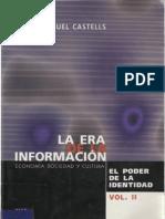 31561217 Castells Manuel 2001 La Era de La Informacion Vol II El Poder de La Identidad