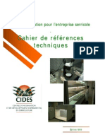 Cahier de Reference Technique