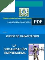 La 0rganizacion Empresarial