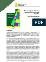 Manual_procedimientos de Prevencion de Riesgos Laborales