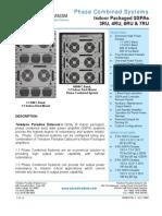 Paradise Datacom Indoor-Redundant Phase-Combined SSPA 209495 RevA