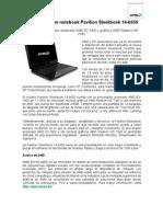 AMD y HP Lanzan Notebook Pavilion Sleekbook 14-b050