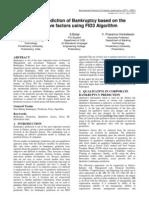 Artigo Previsão de Faleências usando o Algoritimo FID 3d