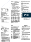 Piping Design Quick Reference Card