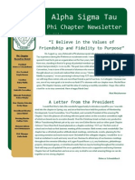 Alpha Sigma Tau-Phi Chapter February Newsletter
