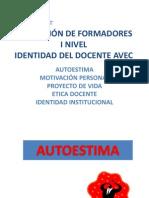 PRESENTACION NIVEL I FORMACIÓN DE FORMADORES