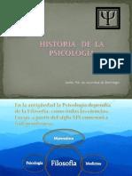 Historia de La PSICOLOGIA Para El Lunes