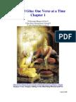 Bhagavad Gita Chapter One