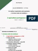 GEOGRAGIA A 11º [AGRICULTURA PORTUGUESA E PAC] (RP)