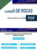 Prevencion Caida de Rocas