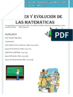 Trabajo Final Del Origen de La Matematica 2