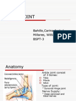 Ankle Joint Ppt