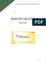 HOJA DE CÁLCULO 2007