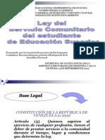 Ley de Servicio Comunitario (Sintesis)