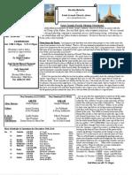 St. Joseph December 16, 2012 Bulletin