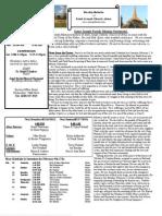 St. Joseph February 10, 2013 Bulletin