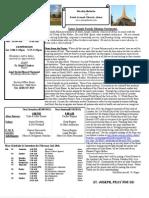 St. Joseph February 3, 2013 Bulletin