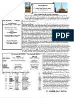 St. Joseph January 13, 2013 Bulletin
