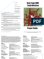 Youth Ministry Prayer Guide