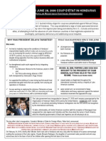 honduras fact sheet june 2010