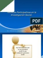 Técnicas Participativas en la Investigación Social
