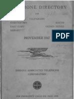 Hobart IN 1947 Telephone Directory
