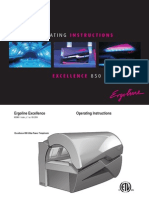 Manuale Ergoline Excellence 850