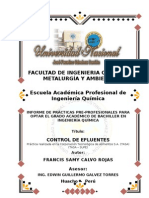 Informe de Practicas Calvo Rojas