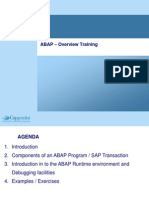 ABAP Debugging Overview
